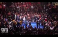 Crowd goes berserk after Deontay Wilder knocks out Dominic Breazeale