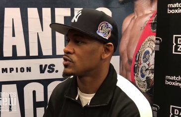 Daniel Jacobs hopes not to have another opponent in the judges