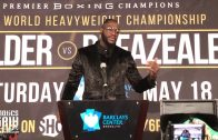 Deontay Wilder dismantles Dominic Breazeale by first round knockout