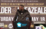 Deontay Wilder on animosity with Dominic Breazeale: 'It's in the past.'