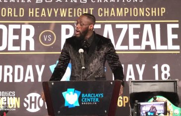 Deontay Wilder on his power: 'I don't know what to call my right hand.'