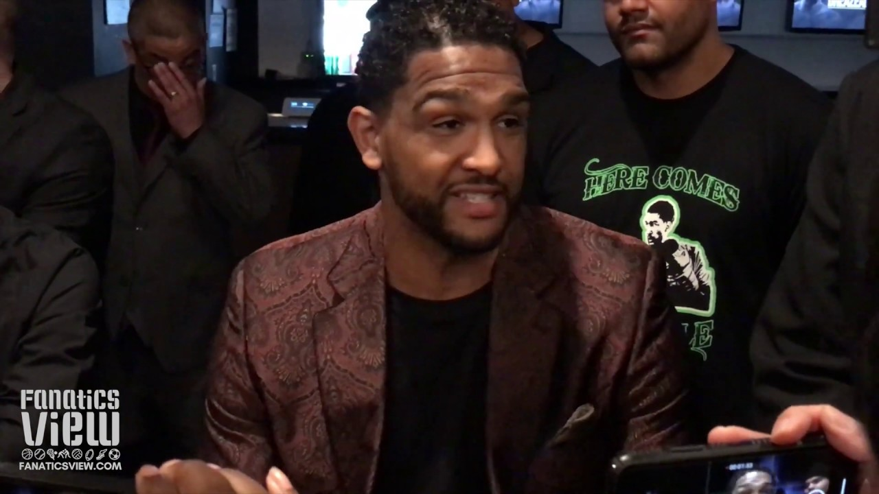 Dominic Breazeale unfazed by Deontay Wilder's dark remarks