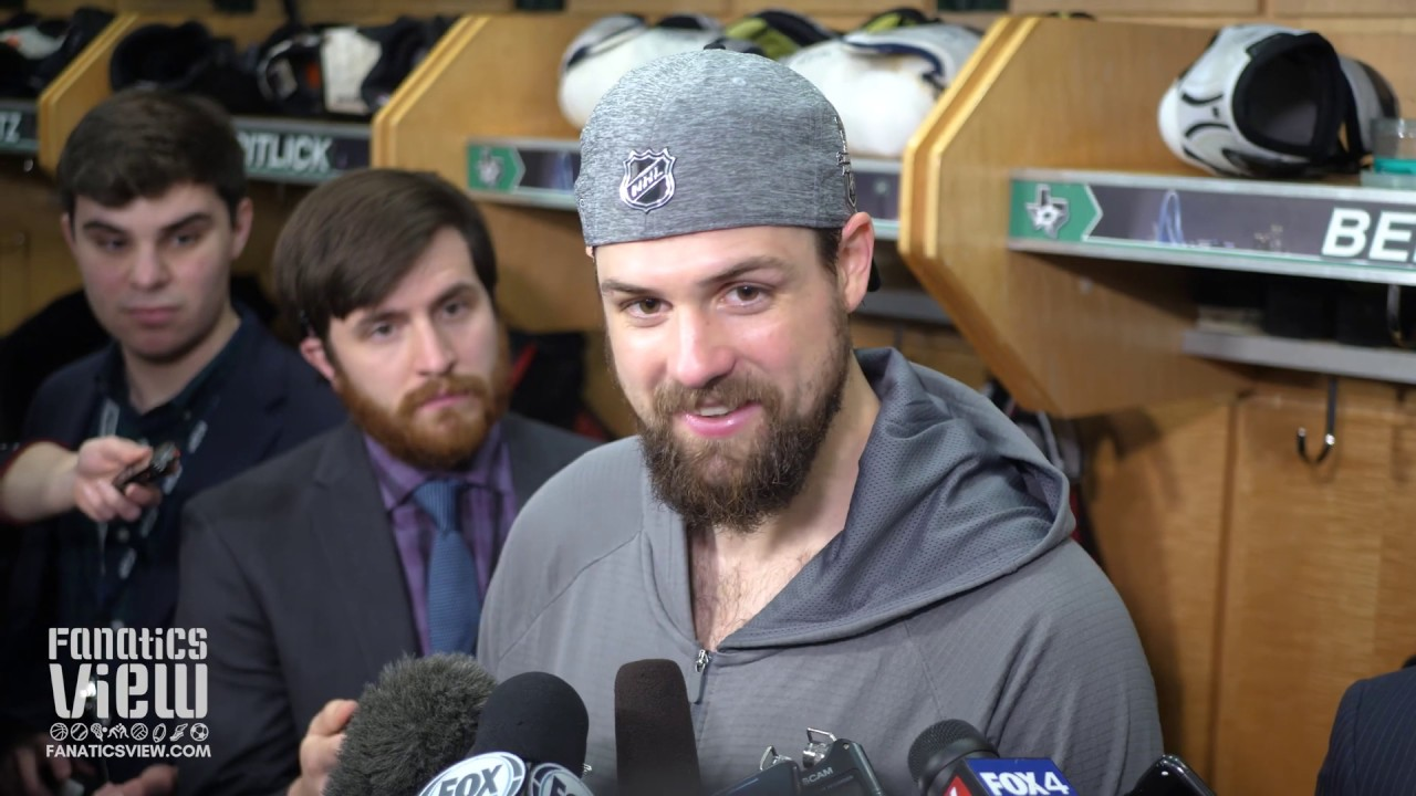9877a9487b4501 Jamie Benn on Ben Bishop Being Scored On While Injured & Game 7 vs. St