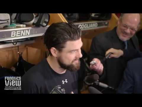 Jamie Benn on Stars vs. Blues Scuffle: