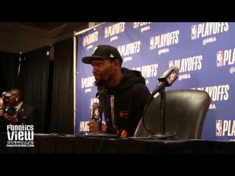 Kevin Durant on Guarding James Harden, Respect for Clippers Roster & 50 Point Performance