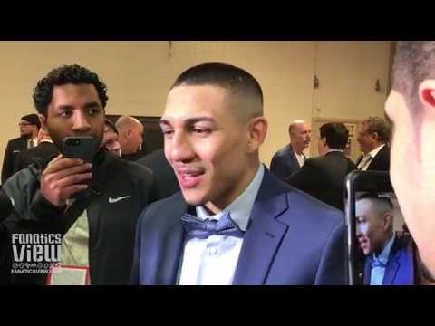 Teofimo Lopez on lightweight division: 'I gotta collect something at 135.'