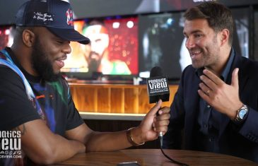 Eddie Hearn gives insight into Anthony Joshua TKO in Exclusive Interview with Fanatics View