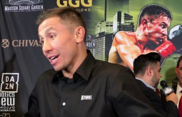 Gennady Golovkin on Steve Rolls fight: 'Everybody has a chance.'