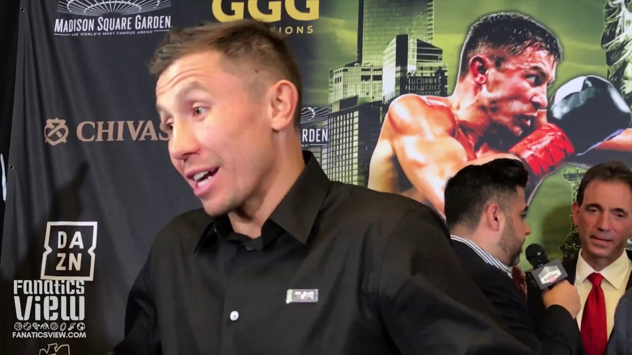 27887c1927a0d Gennady Golovkin on Steve Rolls fight: 'Everybody has a chance.'