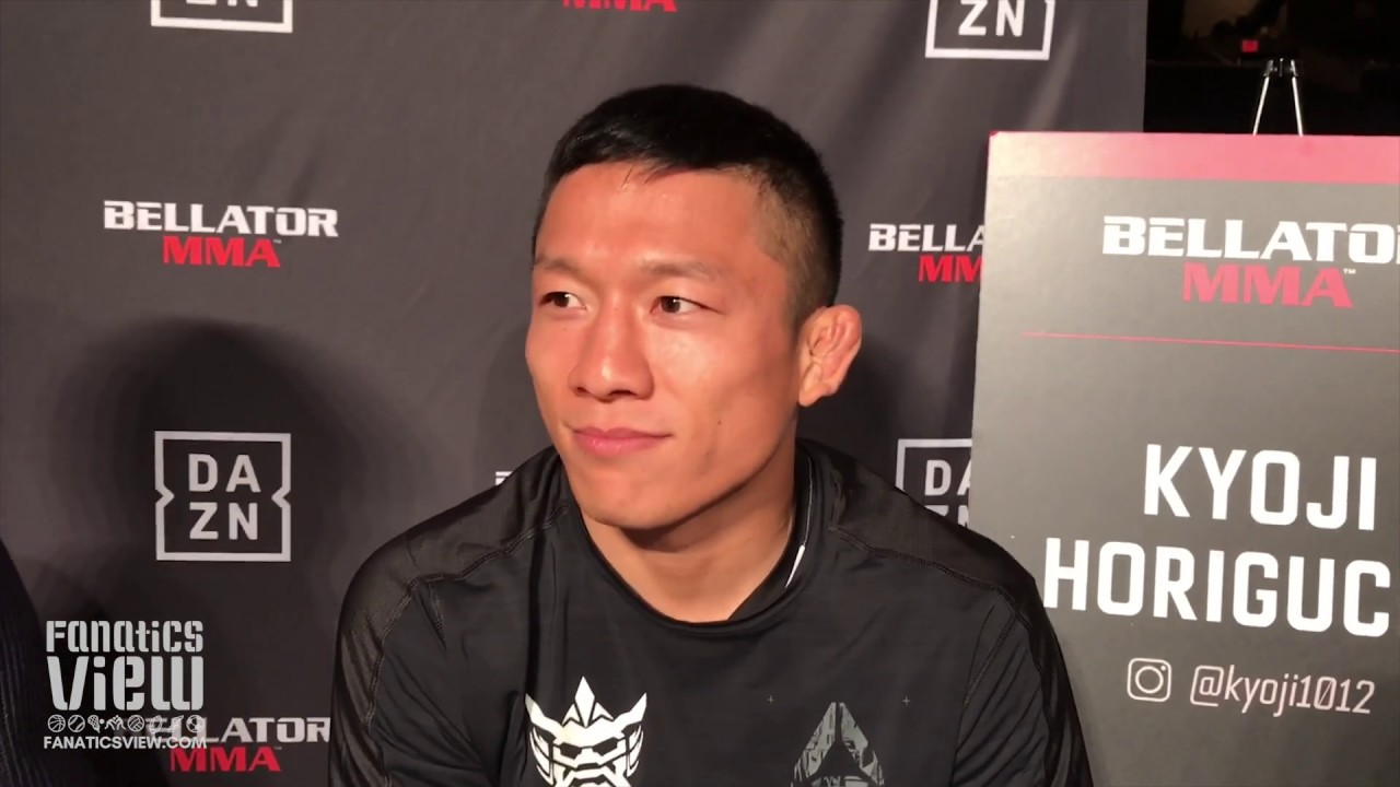 Kyoji Horiguchi eyes title against a familiar opponent in Darrion Caldwell