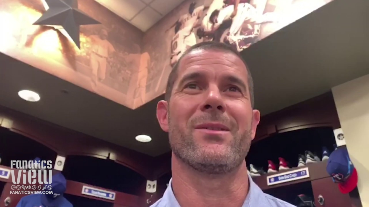 Michael Young talks Life After Baseball, Favorite MLB Player Growing Up & Best Rangers Memories