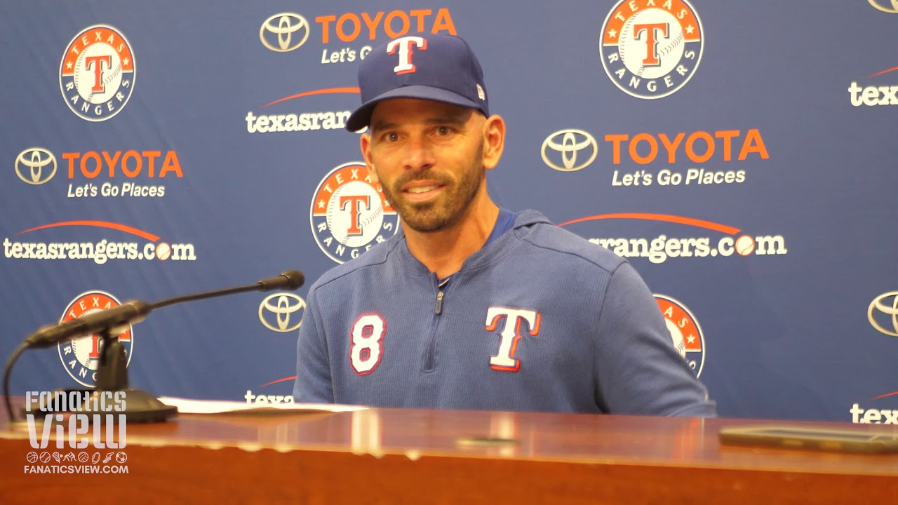 Chris Woodward Reflects on Tyler Skaggs Passing & Emotions for the Texas Rangers