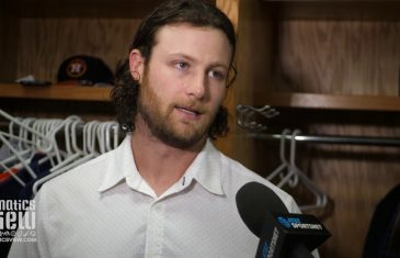 "Gerrit Cole calls Houston Astros vs. Texas Rangers Series a ""Heavyweight Slugfest"""