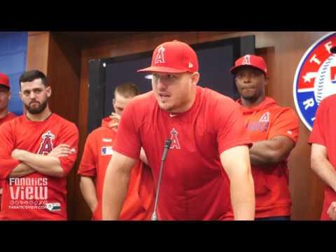 Mike Trout breaks down Speaking on Tyler Skaggs Passing ...