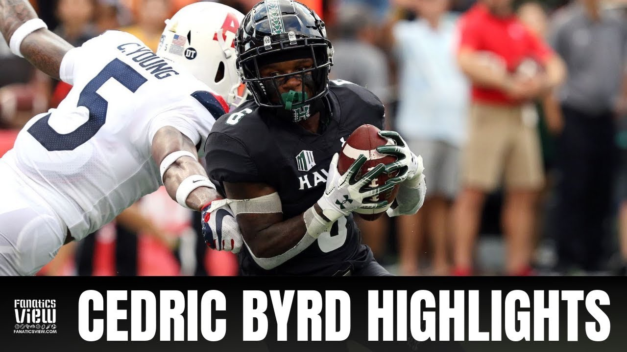 Cedric Byrd LIGHTS UP Arizona for 14 Catches, 224 Yards & 4 Touchdowns (HIGHLIGHTS)
