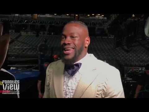 Deontay Wilder on Dillian Whyte and PED's in Boxing: