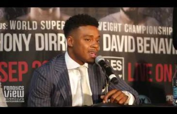 Errol Spence on Shawn Porter: 'I'm gonna knock his ass out.'