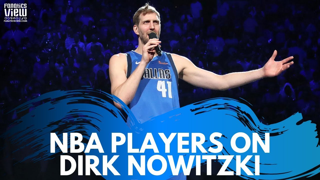 NBA Players React to Dirk Nowitzki's Final NBA Season & Legacy