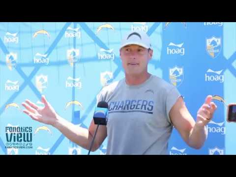 Philip Rivers talks Drew Brees, Melvin Gordon's Absence & Chargers AFC West Chances