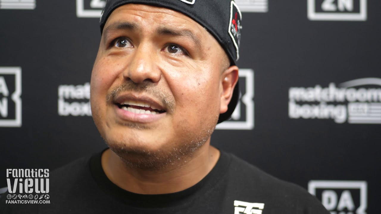Robert Garcia on Manny Pacquiao: 'He's on Top of the World Again'