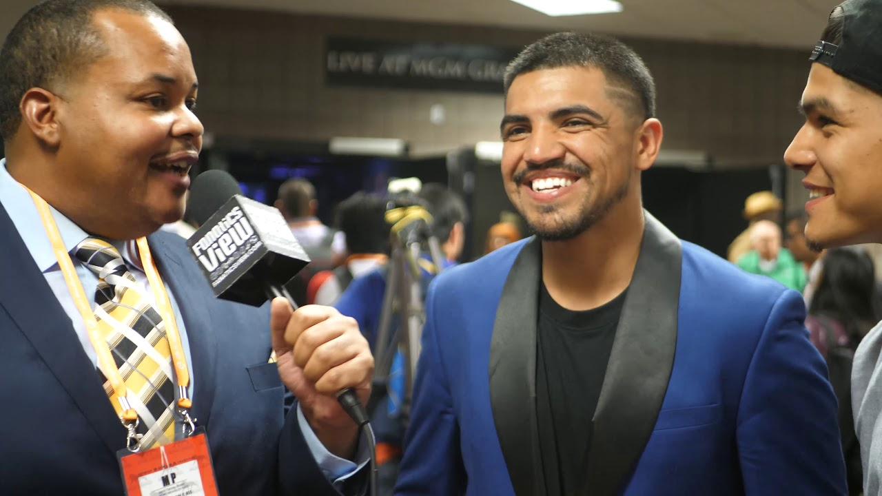 Victor Ortiz surprised by judges' scoring of Pacquiao vs Thurman (Fanatics View Exclusive)