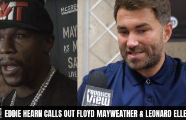 Eddie Hearn calls on Floyd Mayweather to make Gervonta Davis vs. Tevin Farmer