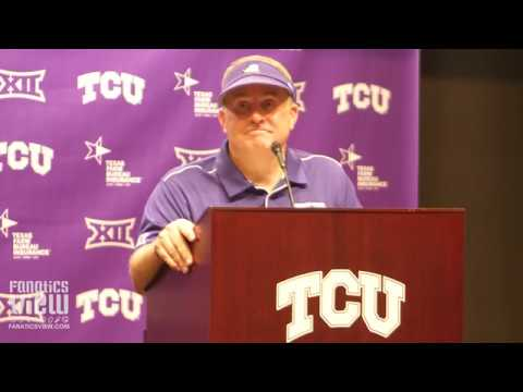 Gary Patterson Reacts to SMU Upset Win vs. TCU:
