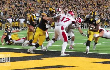 Iowa Hawkeyes Touchdown Highlights vs. Miami Ohio from Fanatics View Sideline Cam