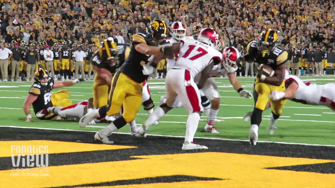 Iowa Hawkeyes Touchdown Highlights vs. Miami Ohio from Fanatics View Sideline Cam