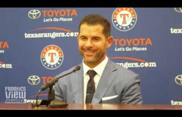 Michael Young reflects on MLB Career, Derek Jeter, Dirk Nowitzki, Ron Washington & Rangers (Full Jersey Retirement Press Conference)