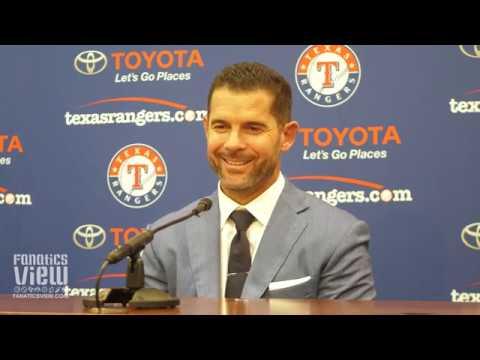 Michael Young reflects on MLB Career, Derek Jeter, Dirk Nowitzki, Ron Washington & Rangers (Full Jersey Retirement Press Conference)