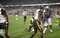 TCU's Darwin Barlow Scores First Career Touchdown & His Family Goes Nuts in the Stands!