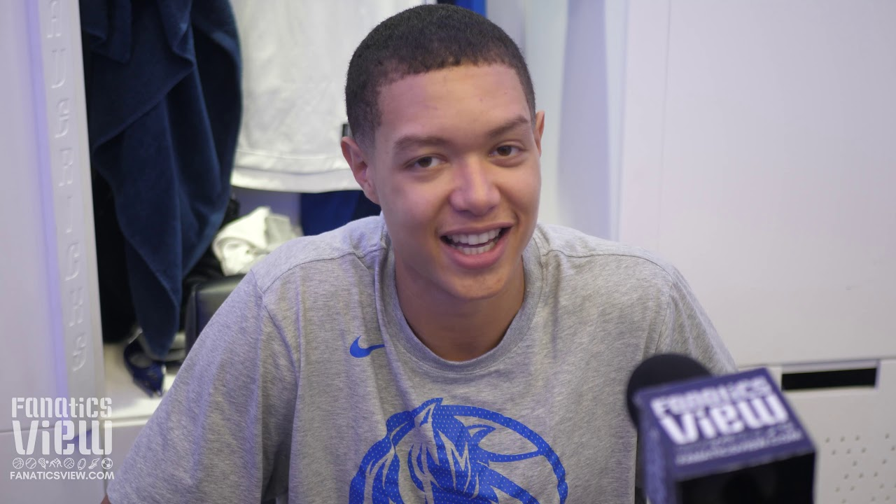 Dallas Mavericks Rookie Small Forward Isaiah Roby Discusses College to NBA Transition