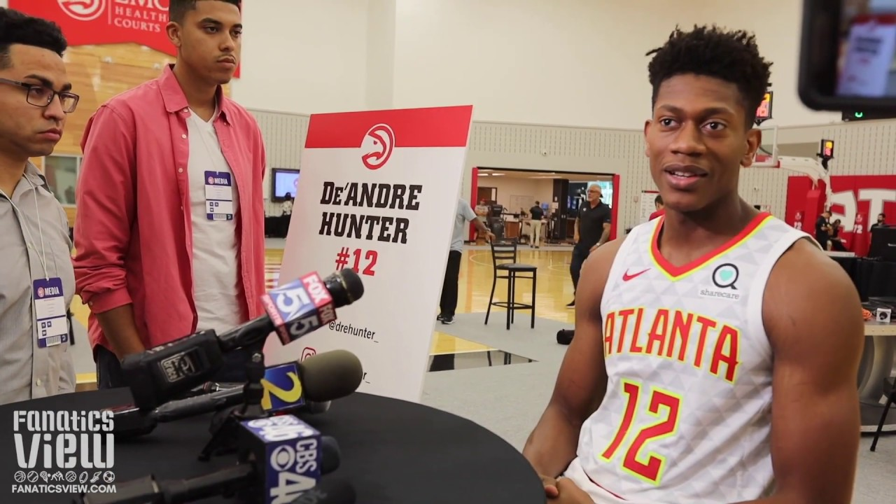 De'Andre Hunter on His Favorite Atlanta Hip Hop Artists, Rookie Year & Advice from Trae Young