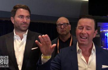 Eddie Hearn on Gennady Golovkin vs Derevyanchenko: 'He Wasn't Overly Motivated'