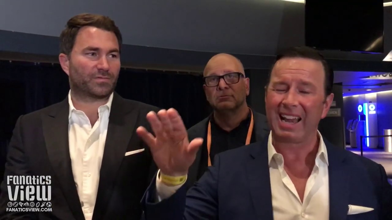Eddie Hearn on Gennady Golovkin vs Derevyanchenko: 'He Wasn't Overly Motivated'