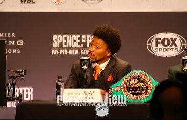 Errol Spence & Shawn Porter exchange intense blows at Press Conference