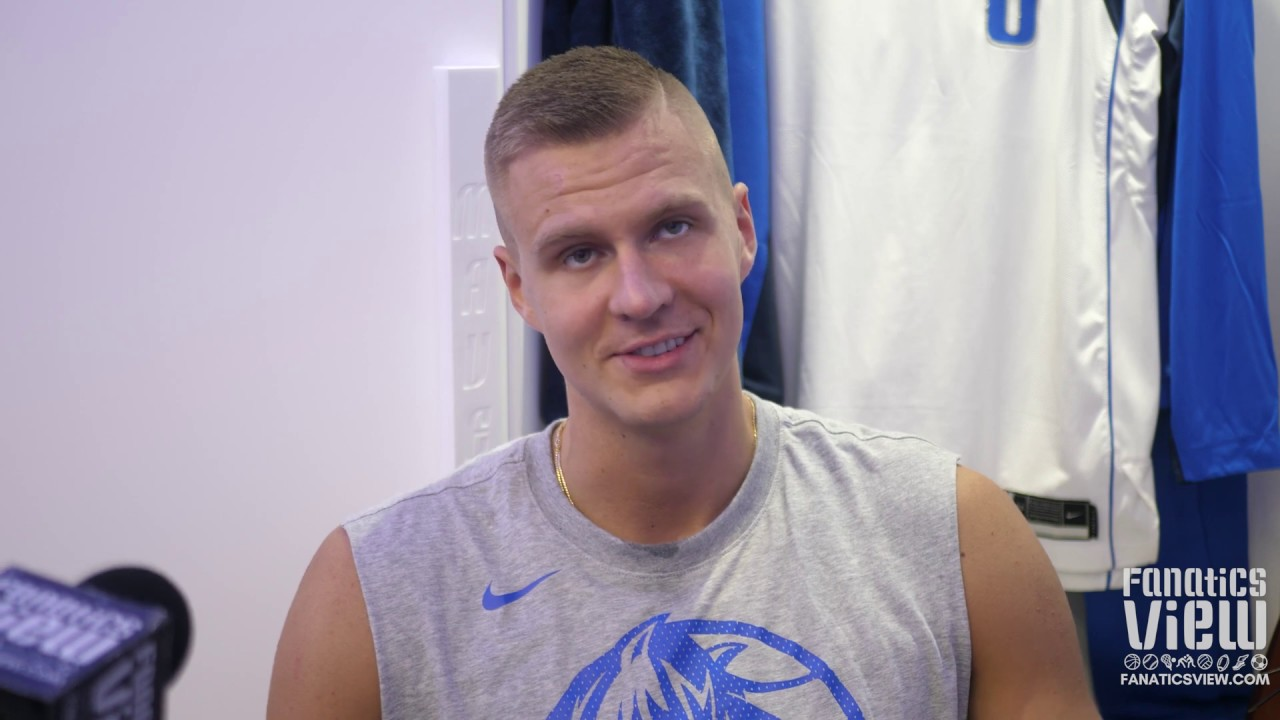 Kristaps Porzingis on Nate Diaz Vs. Jorge Masvidal, Conor McGregor & All Things UFC