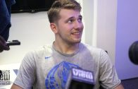 Luka Doncic Discusses First Preseason Win, His Role As A Leader, Kawhi Leonard & More