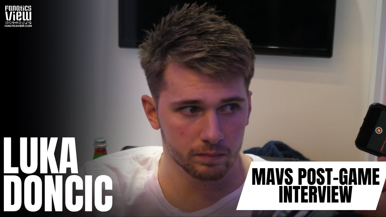 Luka Doncic speaks on loss against the Portland Trail Blazers, Damian Lillard and CJ McCollum