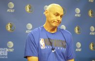 "Rick Carlisle on Kristaps Porzingis Minutes, Seth Curry's Return & Mavs Building a ""Family"""