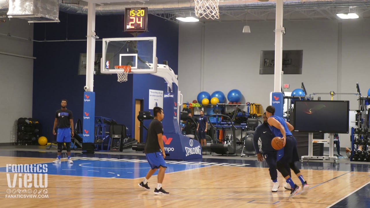 Seth Curry Puts In Shooting Work At Mavericks Final Preseason Practice