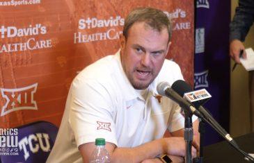 "Tom Herman says Texas Loss vs. TCU is ""NOT A SETBACK"" for Texas Longhorns Football Program"