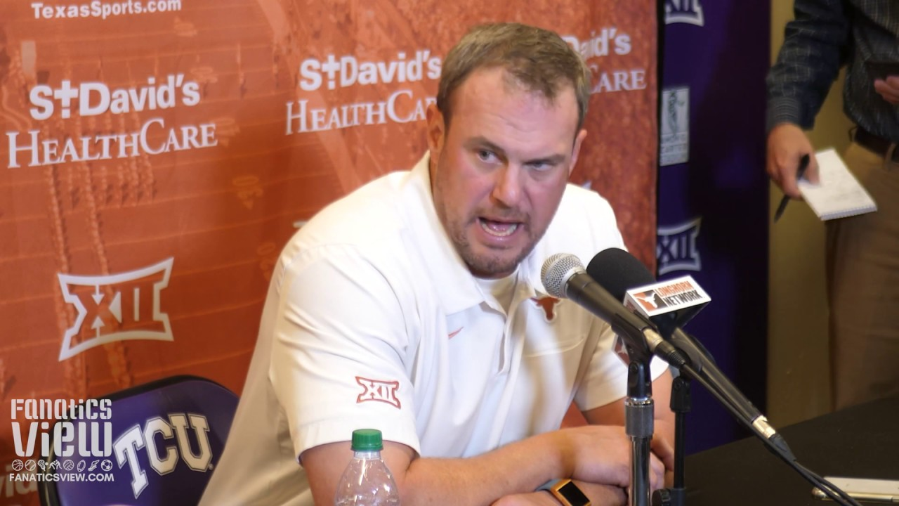Tom Herman says Texas Loss vs. TCU is