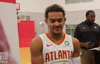 Trae Young speaks on Vince Carter, 2018-19 NBA Drafts, Hawks' playoff chances and Jalen Hurts