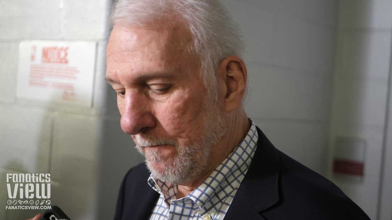 Gregg Popovich speaks on Kristaps Porzingis & Reacts to the Spurs' loss against Dallas