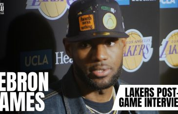 LeBron James speaks on Luka Doncic, Dallas Mavericks, the Lakers' win and honoring Nipsey Hussle