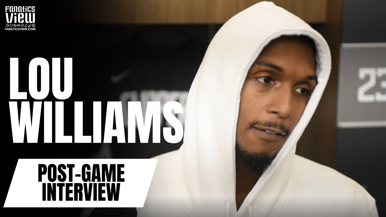 Lou Williams Jokes with Clippers Media on Kawhi Leonard