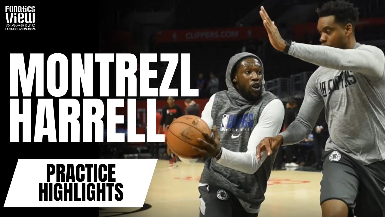 Montrezl Harrell works on post-game, jumper and shows off some explosive moves in Warm-Up