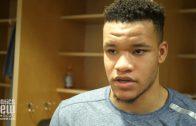 New York Knicks' Kevin Knox talks Luka Doncic, Carmelo Anthony Still Unsigned And Knicks Season Goals